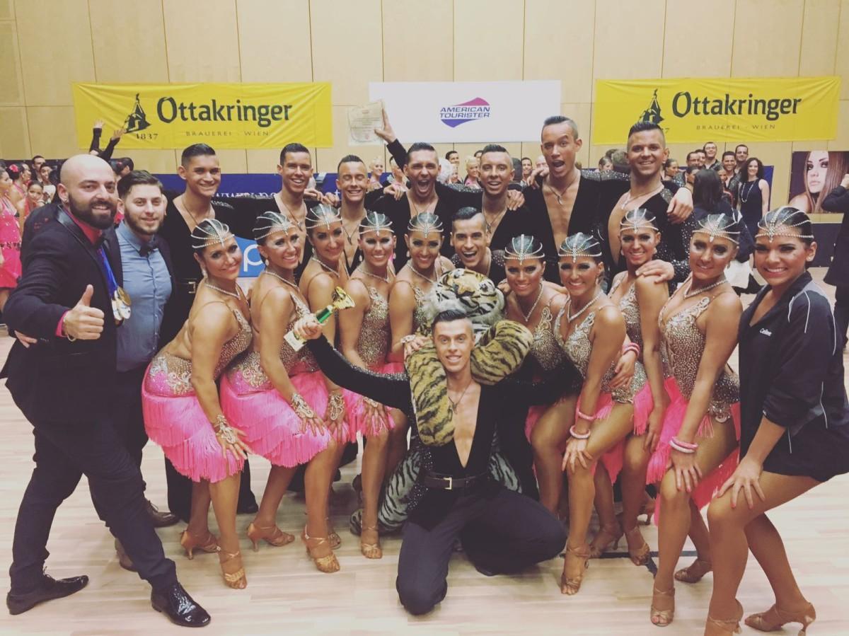 3. Platz auf dem Dance Cup in Perchtoldsdorf/Österreich