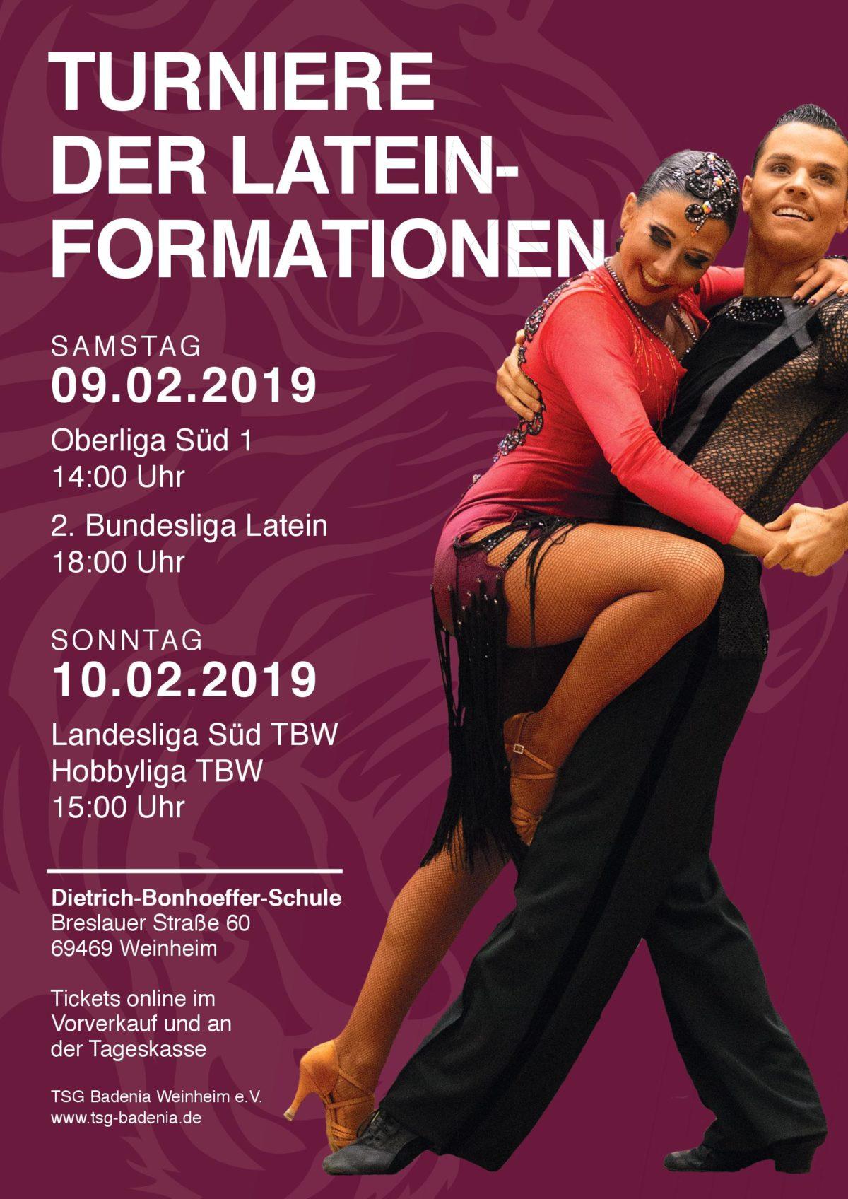 Turnierwochenende in Weinheim – nicht verpassen!